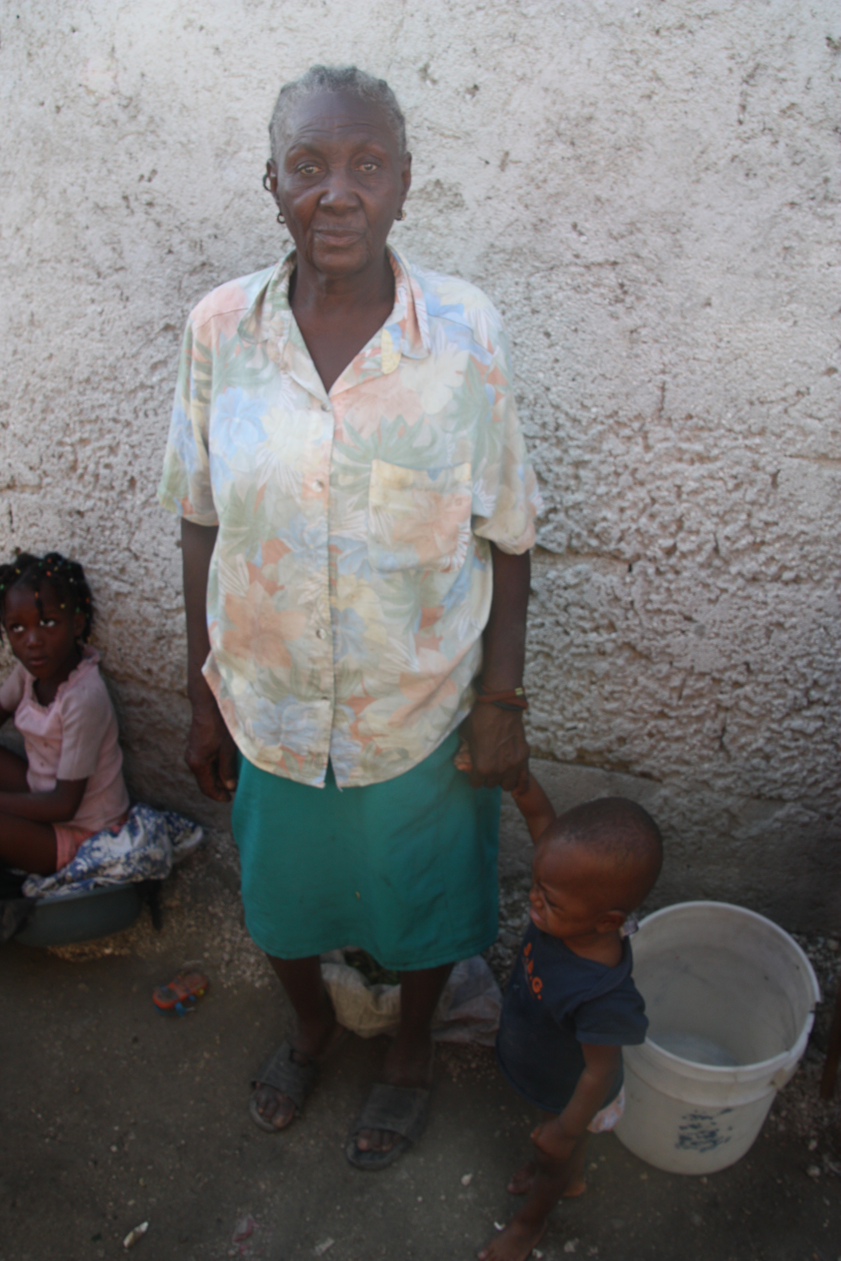 Yolande is the sole caretaker for her 6 young grandchildren